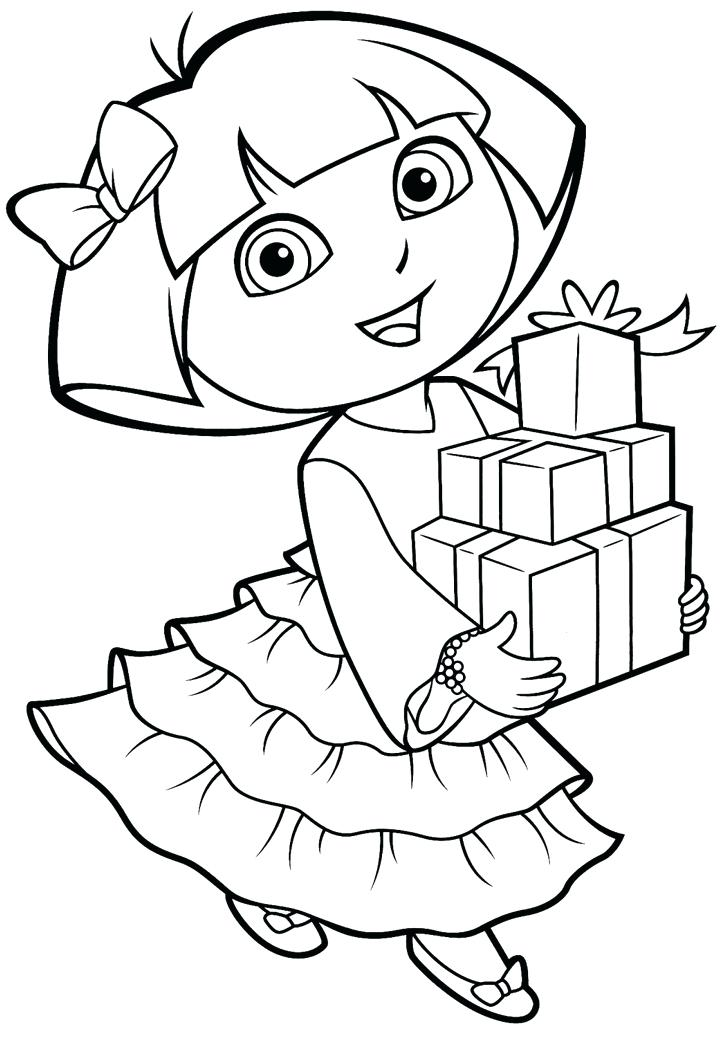 720x1054 Dora Coloring Pages Printable Coloring Pages Free For Kids