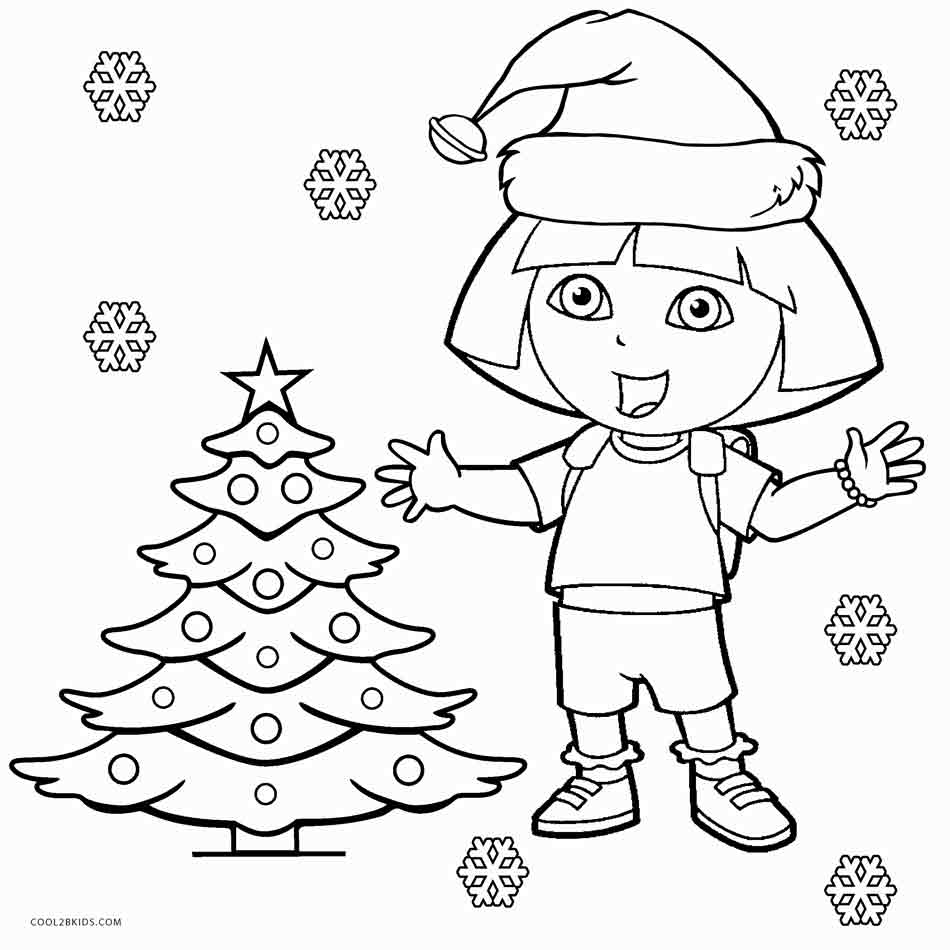 950x950 Free Printable Dora Coloring Pages For Kids