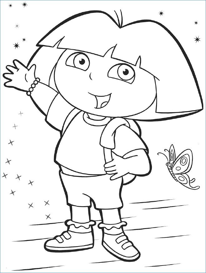 660x875 Lion The Acrobat Dora The Explorer Coloring Page