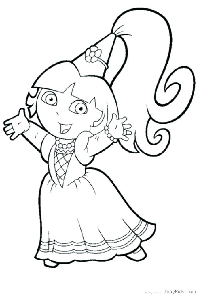 691x1024 Dora Coloring Games Coloring Explorer Coloring Pages Emon