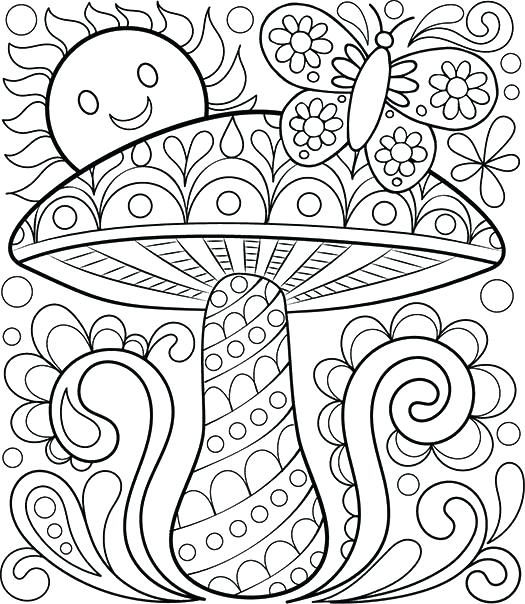 525x604 Free Downloadable Coloring Pages