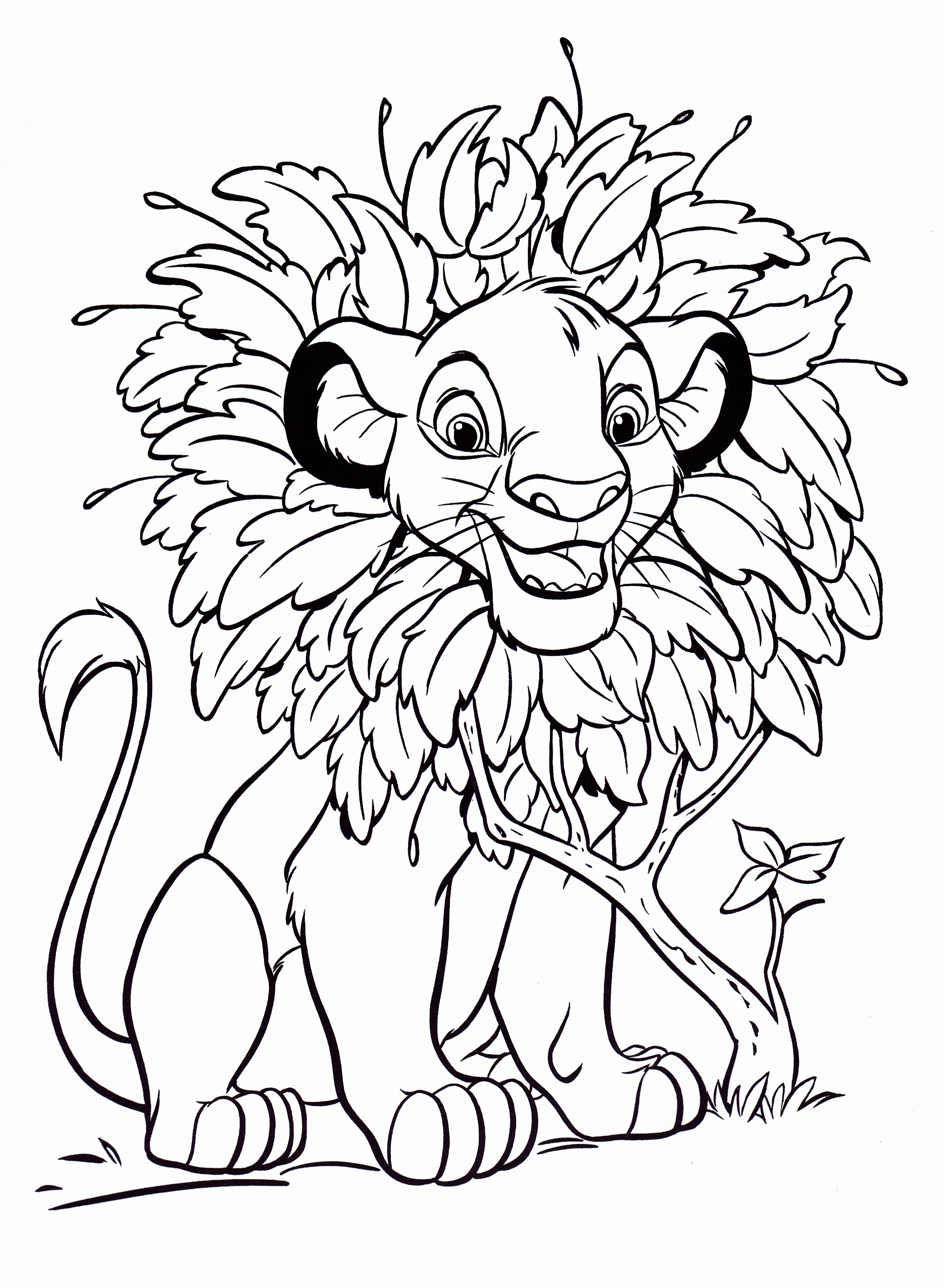 2096x2859 Lovely Free Downloadable Coloring Pages From Disney