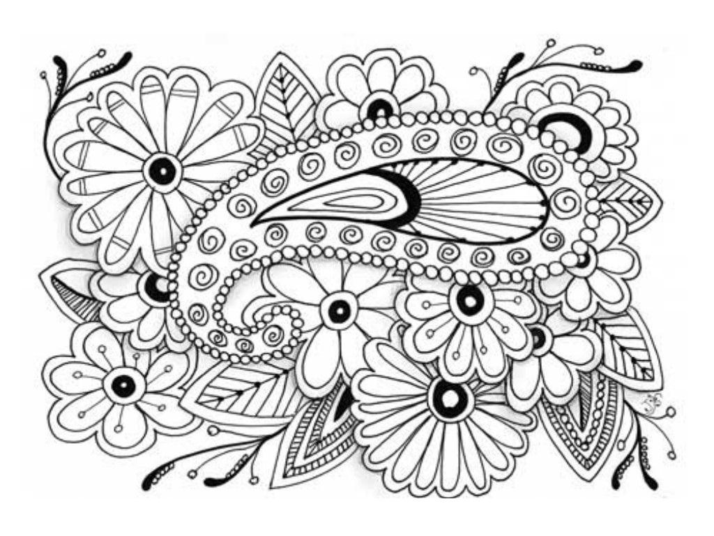 1024x768 Downloadable Coloring Pages For Adults