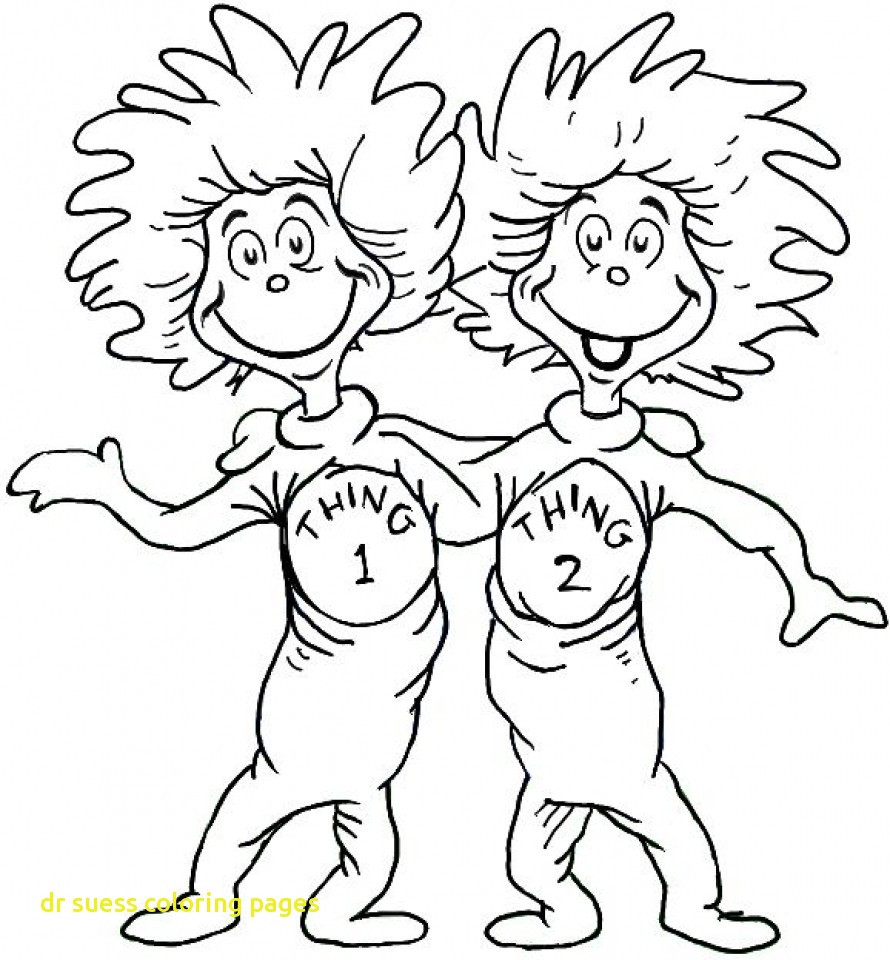 Free Dr Seuss Coloring Pages