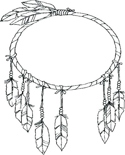 400x497 Dreamcatcher Coloring Pages Get The Coloring Page Simple Dream