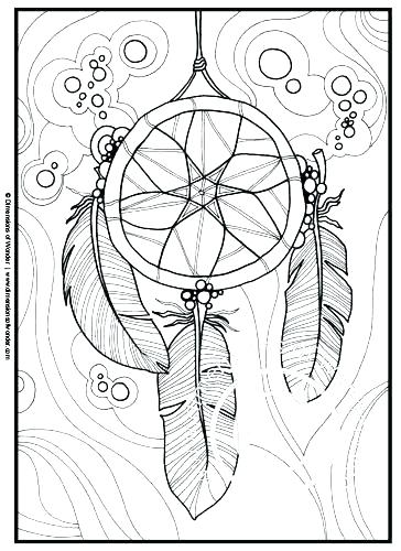 364x500 Coloring Pages Coloring Pages Dream Catchers Coloring Pages Dream
