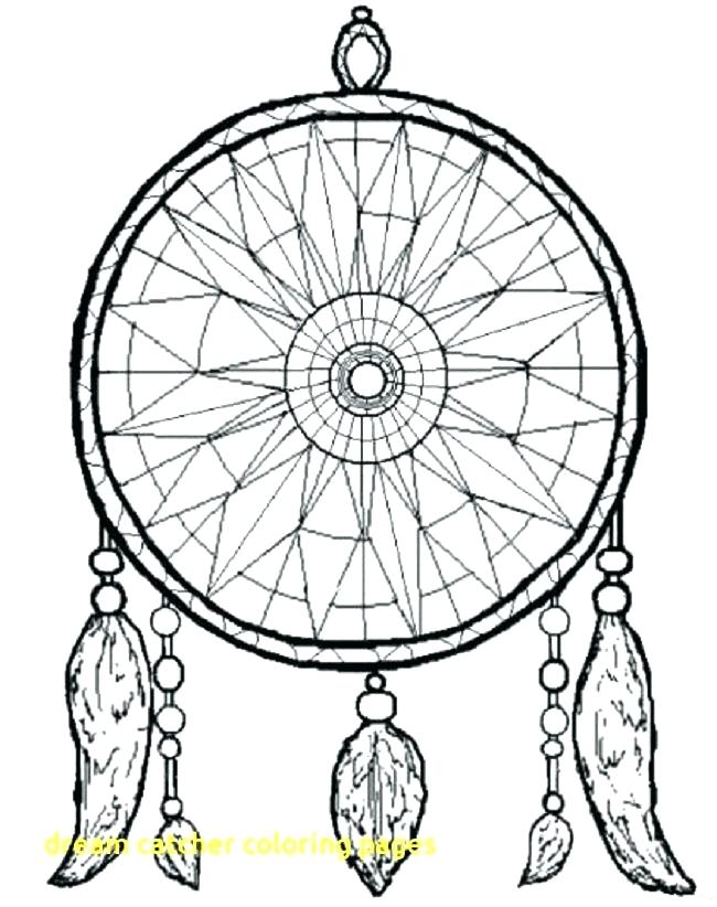 650x822 Free Dream Catcher Coloring Pages For Adults With Good Simple Colo