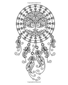 236x295 Free Adult Coloring Page Dream Catcher With Quote