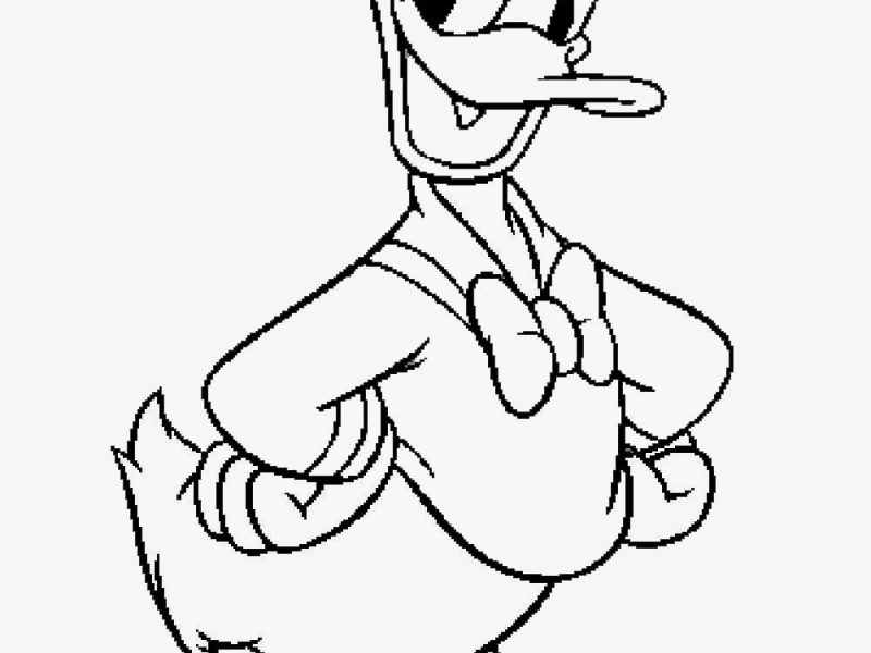 800x600 Donald Duck Coloring Pages Affordable Donald Duck Coloring Pages