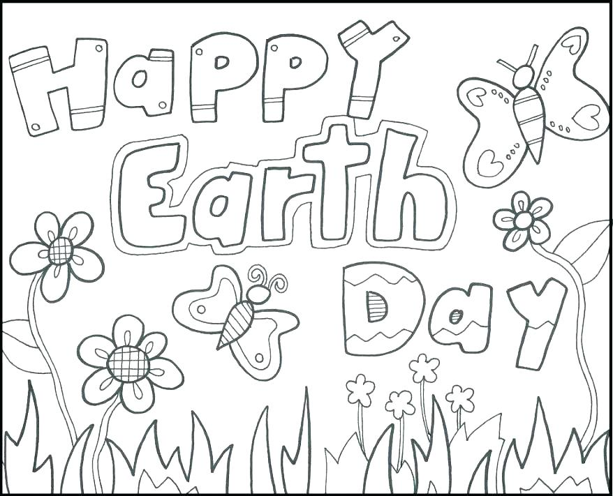 Free Earth Day Coloring Pages At GetDrawings Free Download