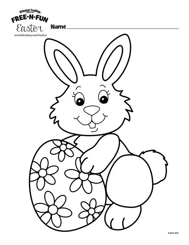641x830 Free Easter Bunny Coloring Pages Free