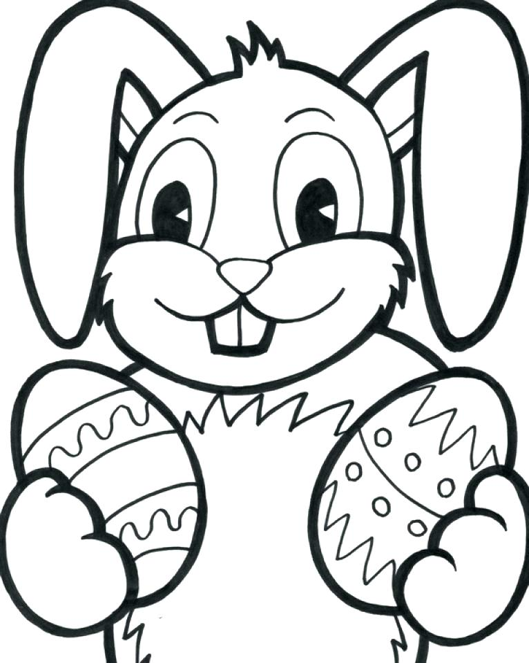 766x960 Free Easter Bunny Coloring Pages Free Printable Easter Bunnies