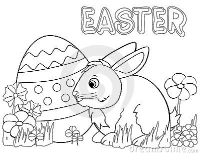 400x309 Free Easter Bunny Coloring Pages Popular Free Easter Bunny
