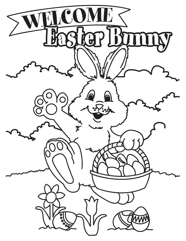 618x800 Free Easter Bunny Coloring Pages To Print Latest Bunny Coloring