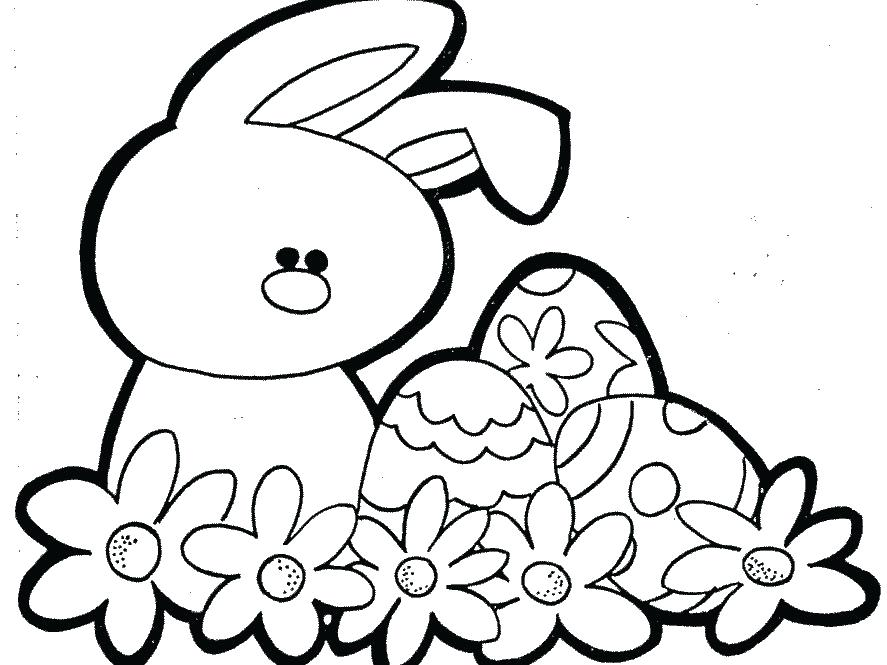887x665 Free Easter Colori Stunning Preschool Easter Coloring Pages