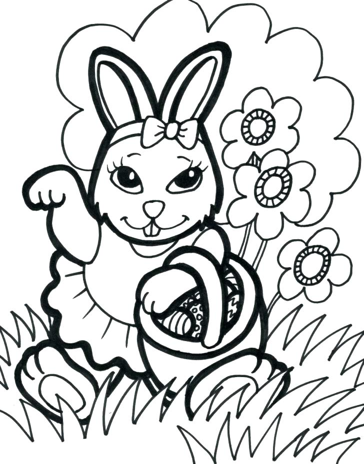 728x929 Printable Easter Coloring Pages For Toddlers