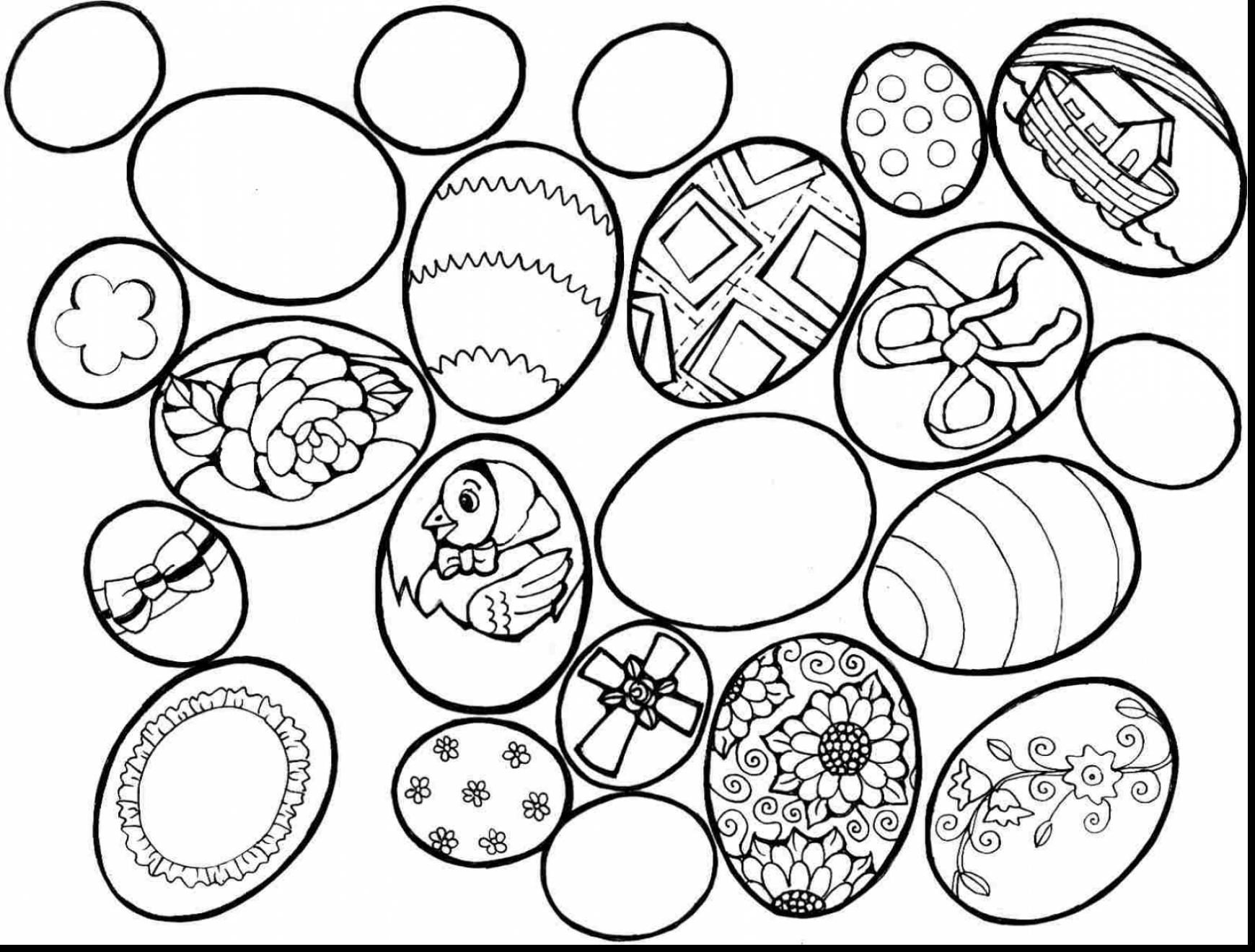 1740x1320 Bible Easter Coloring Pages To Print Excellent Egg Printables