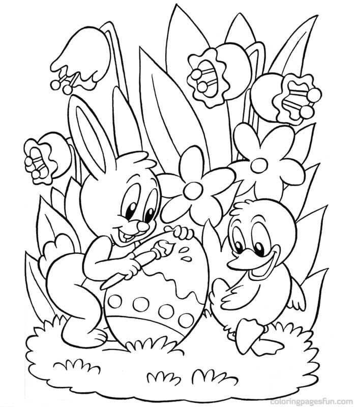 700x800 Classy Idea Happy Easter Coloring Pages Printable Free For Kids