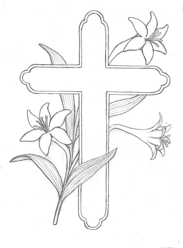 Free Easter Coloring Pages Religious At Getdrawings Com Free For