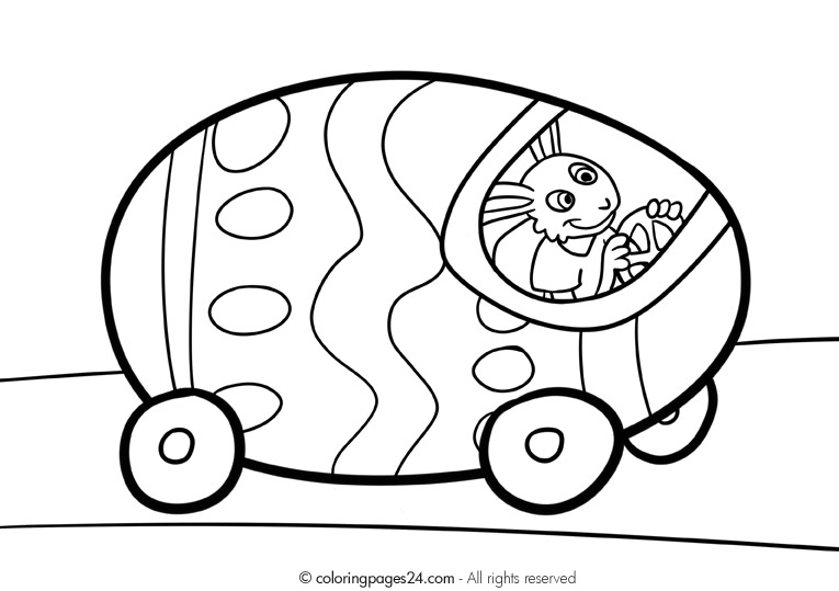 Free Easter Egg Coloring Pages at GetDrawings.com | Free for ...