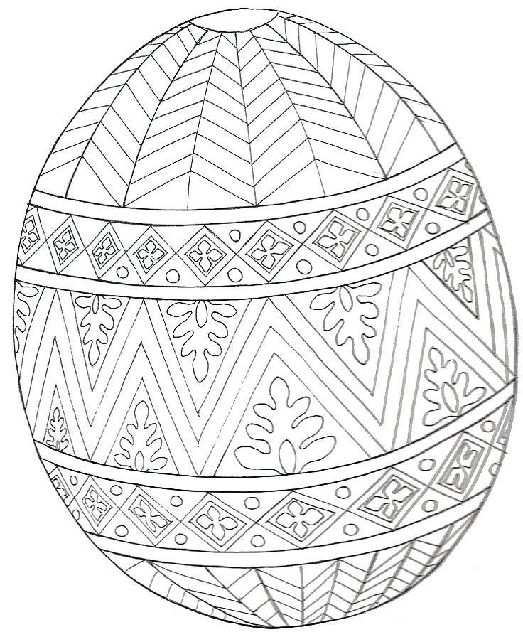736x896 Egg Coloring Pages Printable Easter Egg Coloring Book Pages
