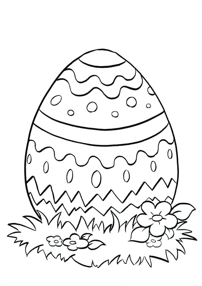 649x919 Printable Eggs For Kids Coloring Page Easter Egg Basket Colouring
