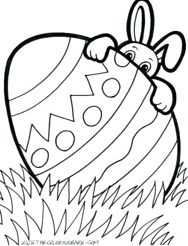 382x500 Easter Egg Coloring Pages Printable