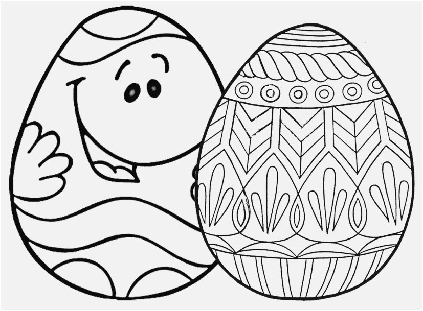 827x609 Easter Coloring Book Design Free Printable Easter Egg Coloring