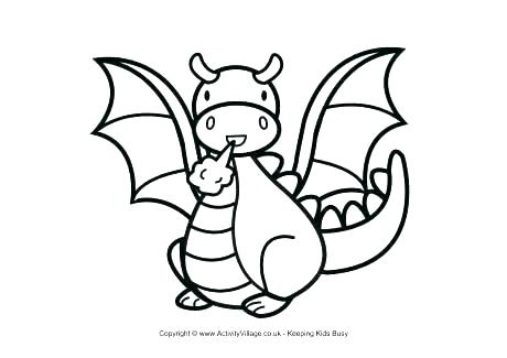 460x325 Dragon Coloring Pages Fresh Dragon Coloring Page Free Dragon
