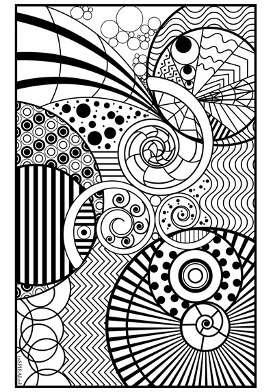 399x572 Easy Coloring Book For Adults