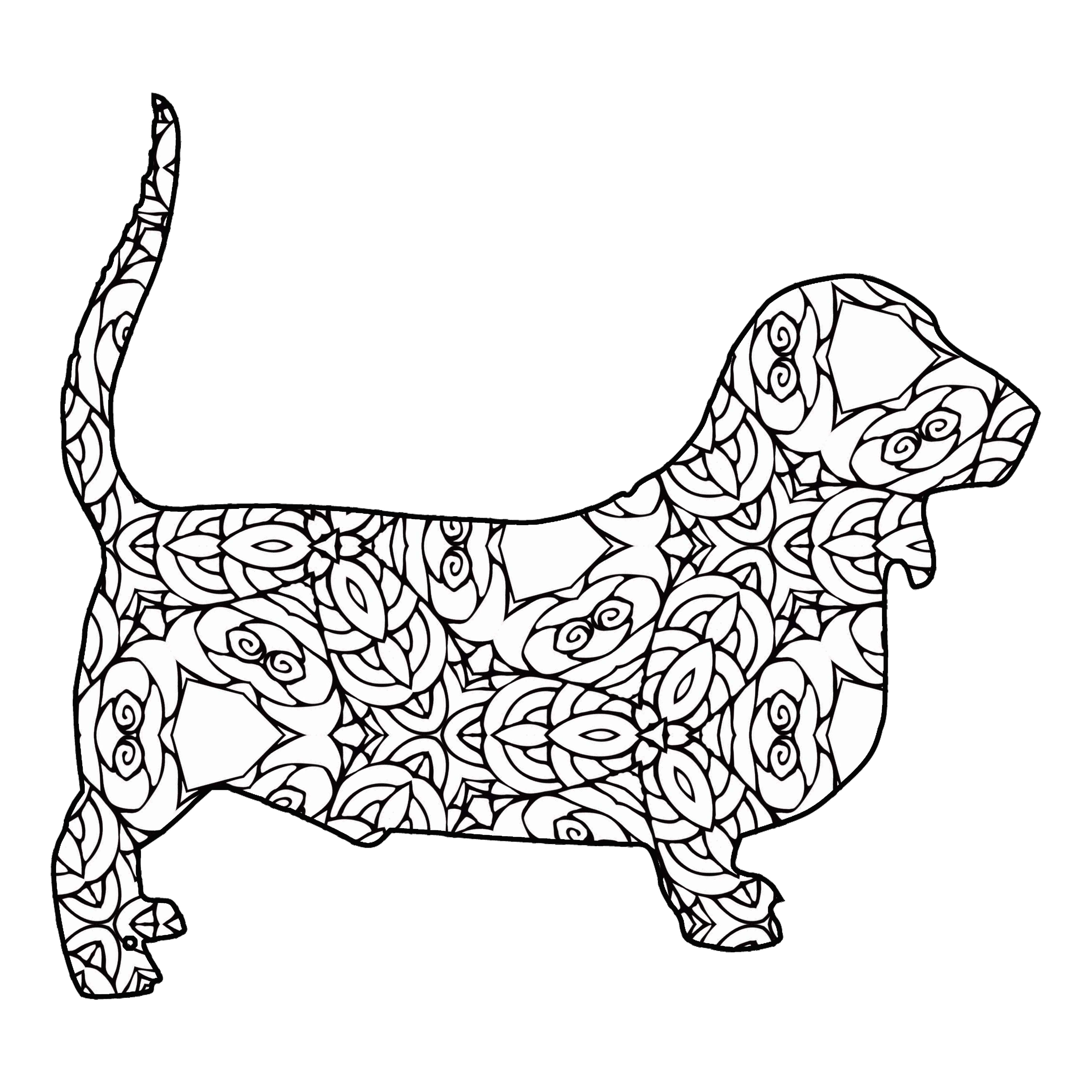4500x4500 Geometricing Page Free Draw To Coloring Geometric Printable
