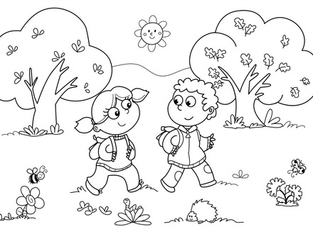 Free Educational Coloring Pages