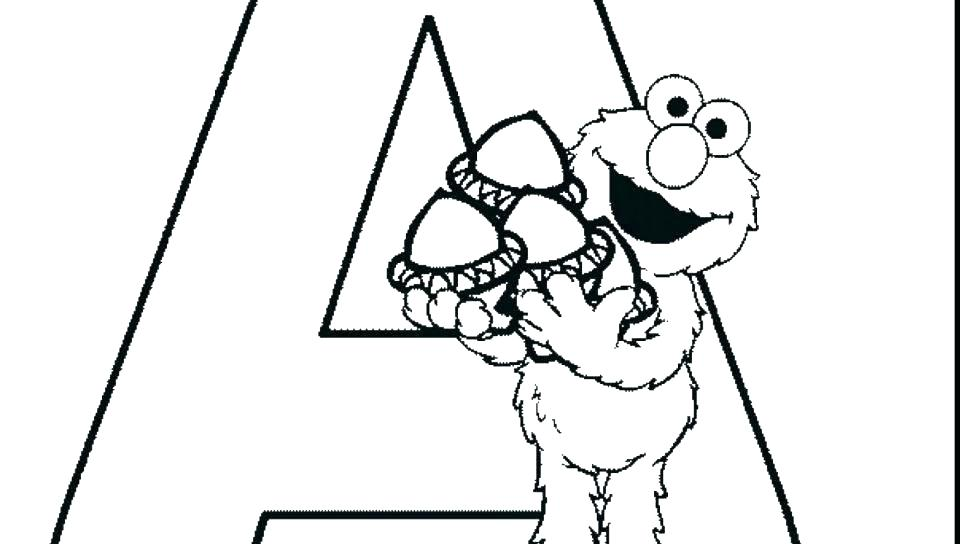 Free Elmo Coloring Pages at GetDrawings.com   Free for ...