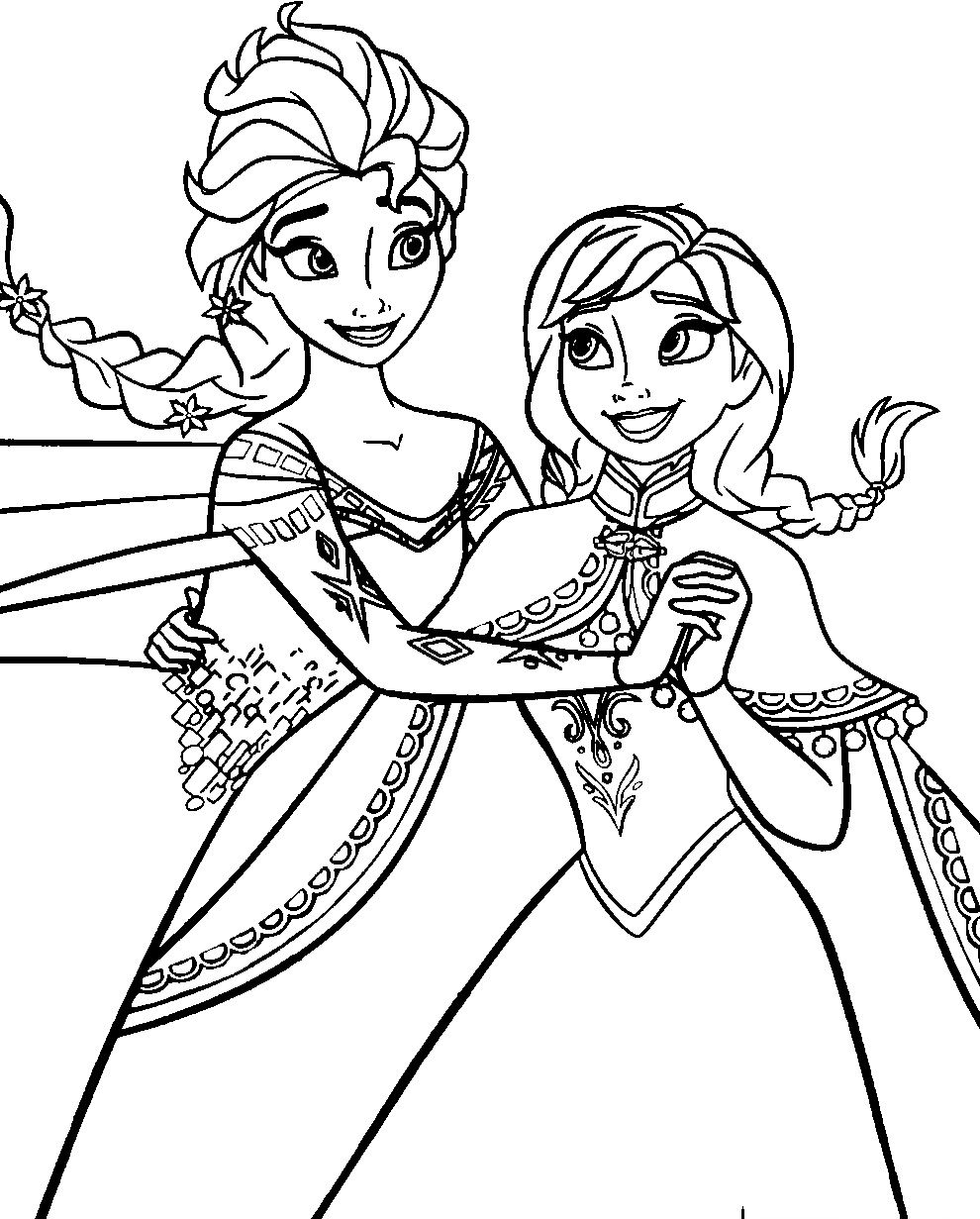 990x1231 Frozen Coloring Book Pages Games Pdf Free Download Trump Books