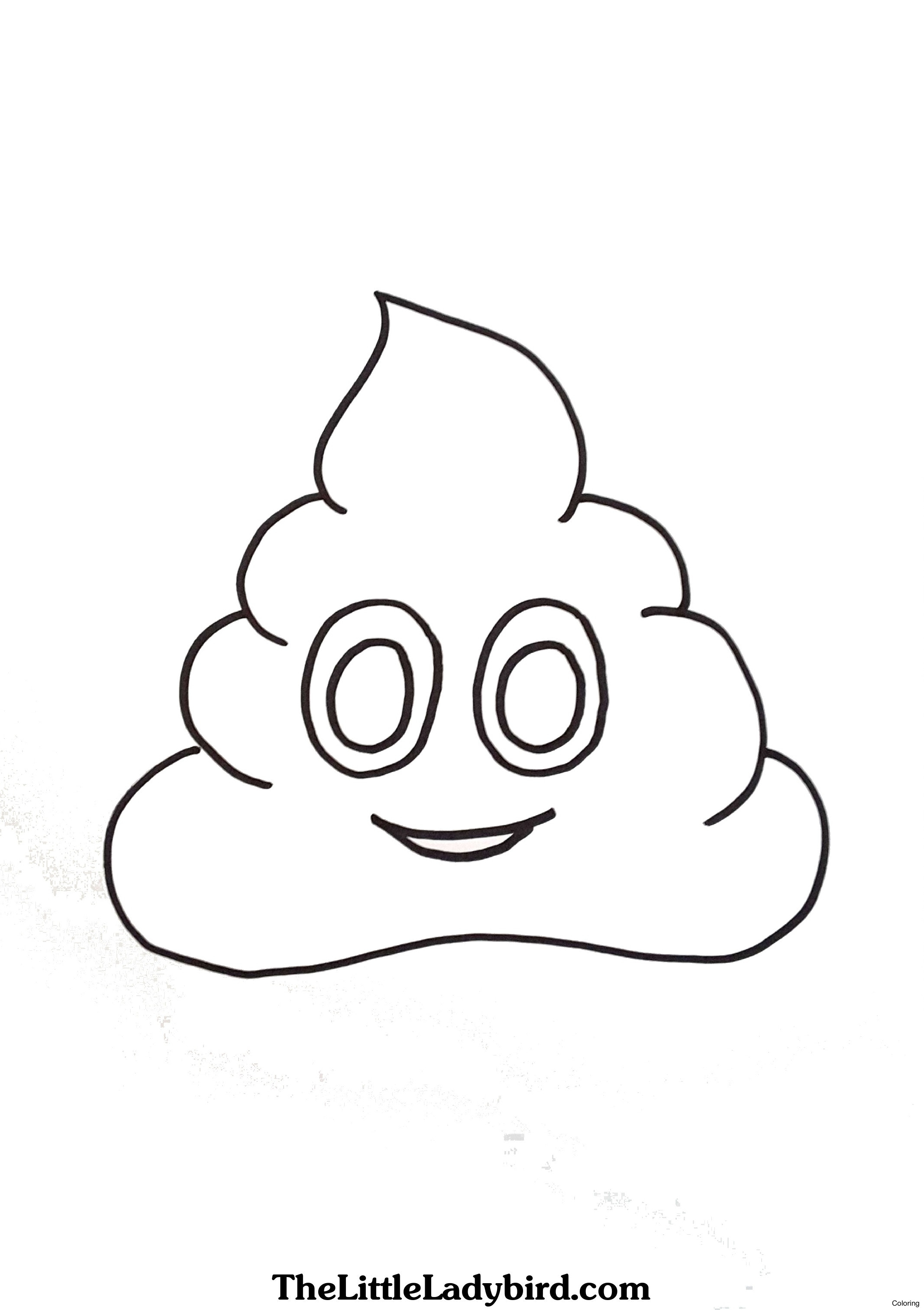 2134x3026 Emoji Movie Poop Coloring Page Emojis Pages The From To View