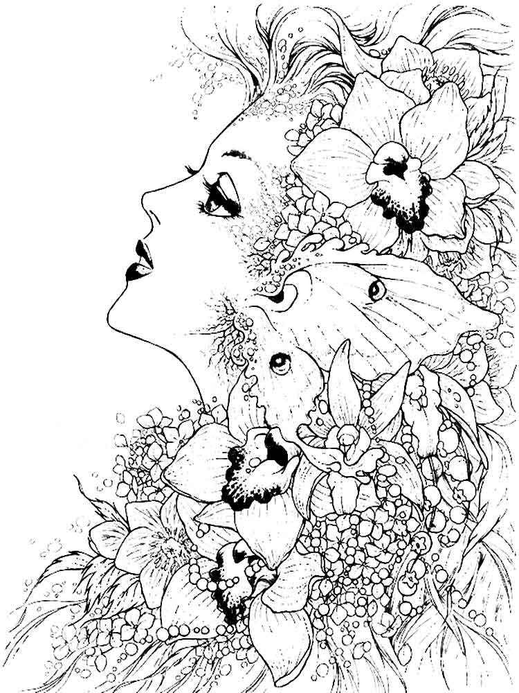 Free Fantasy Coloring Pages at GetDrawings.com | Free for ...