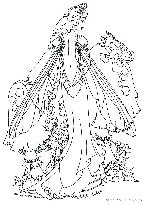 595x841 Fantasy Coloring Pages Fairies Coloring Pages Free Fantasy Art