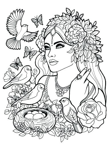 385x512 Fantasy Coloring Pages Fairy Coloring Book Fantasy Coloring Books