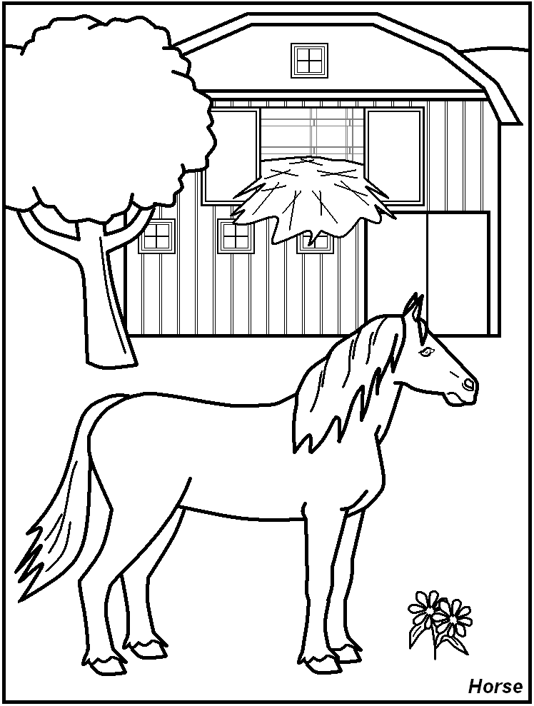 Free Farm Coloring Pages at GetDrawings com | Free for