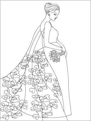 301x400 Best Weddingride Coloring Pages Images