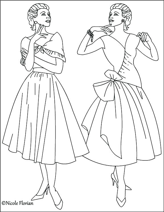 576x744 Fashion Design Coloring Pages Coloring Pages Fashion Plus Fashion