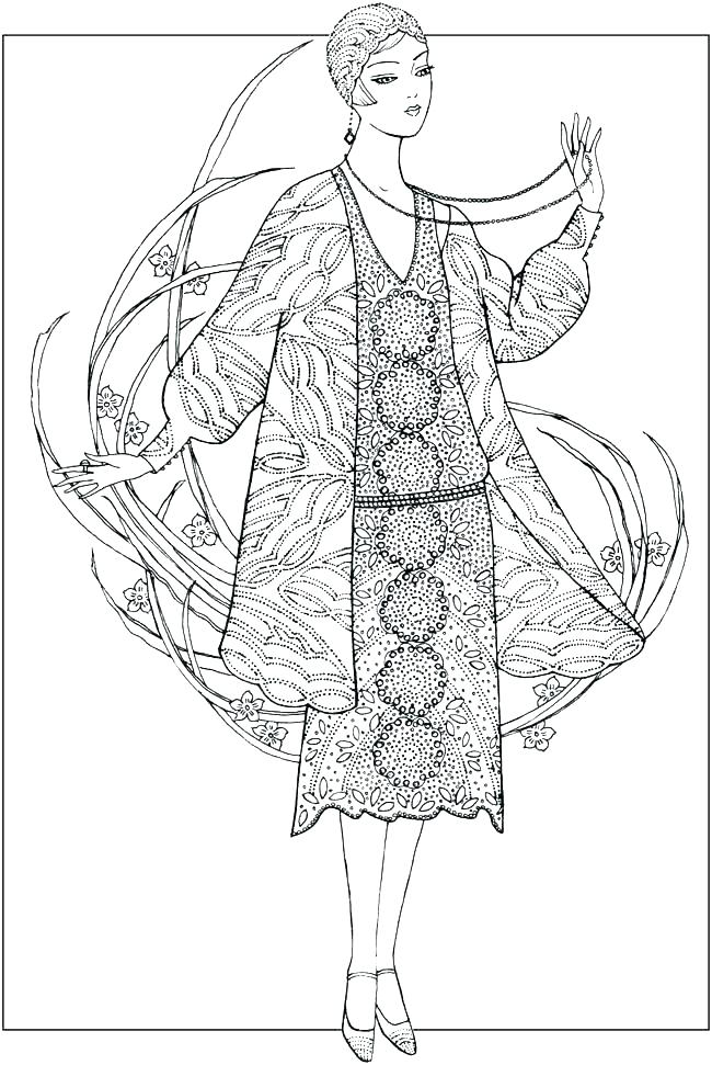 650x971 Fashion Design Coloring Pages Fashion Coloring Pages For Girls