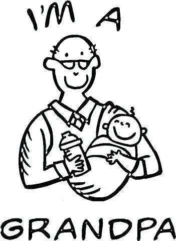 351x480 Fathers Day Coloring Pages For Grandpa Happy Fathers Day Coloring