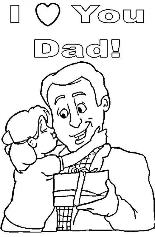 520x794 Top Free Printable Father's Day Coloring Pages Online Father