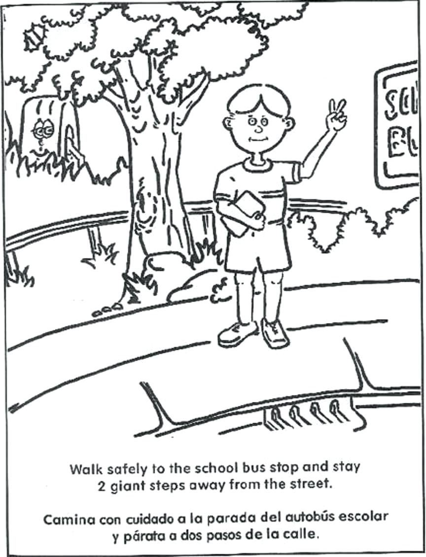 Free Fire Safety Coloring Pages