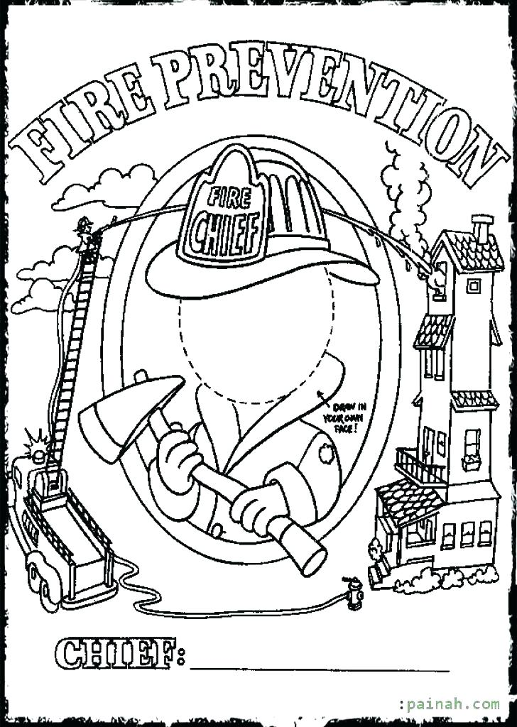 728x1024 Idea Safety Coloring Pages And Fire Safety Coloring Pages Free