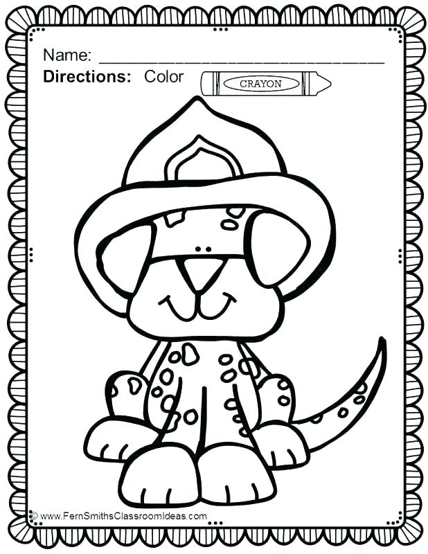 618x800 Coloring Pages Fire Safety Coloring Sheets Free
