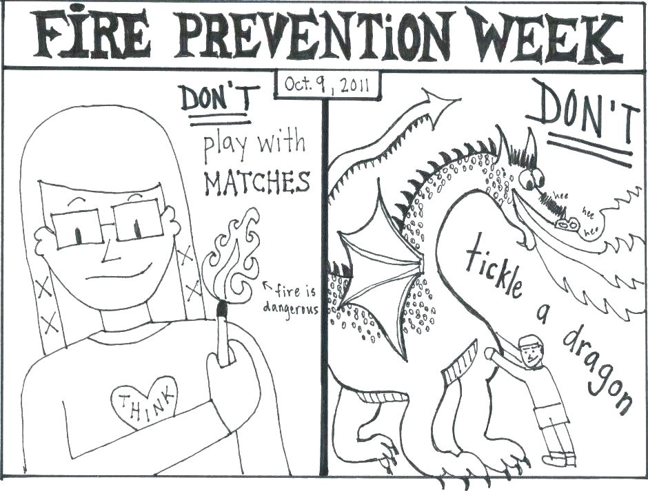 940x713 Safety Coloring Books Together With Free Fire Safety Coloring