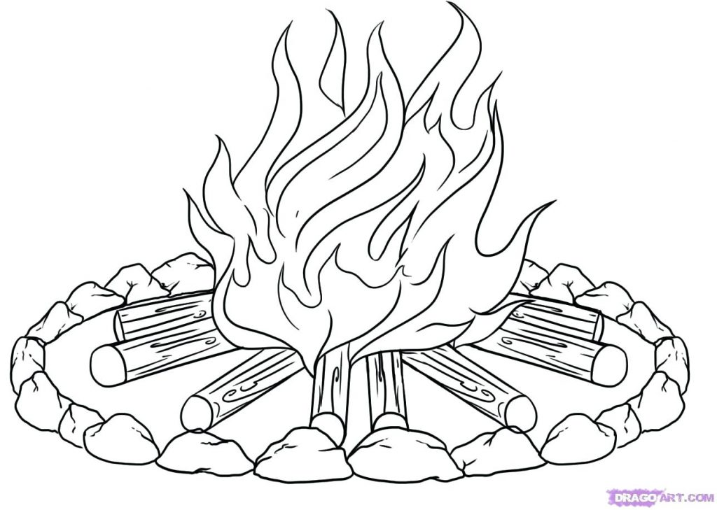 1024x729 Coloring Pages Fire Coloring Pages Preschool Fire Coloring Pages
