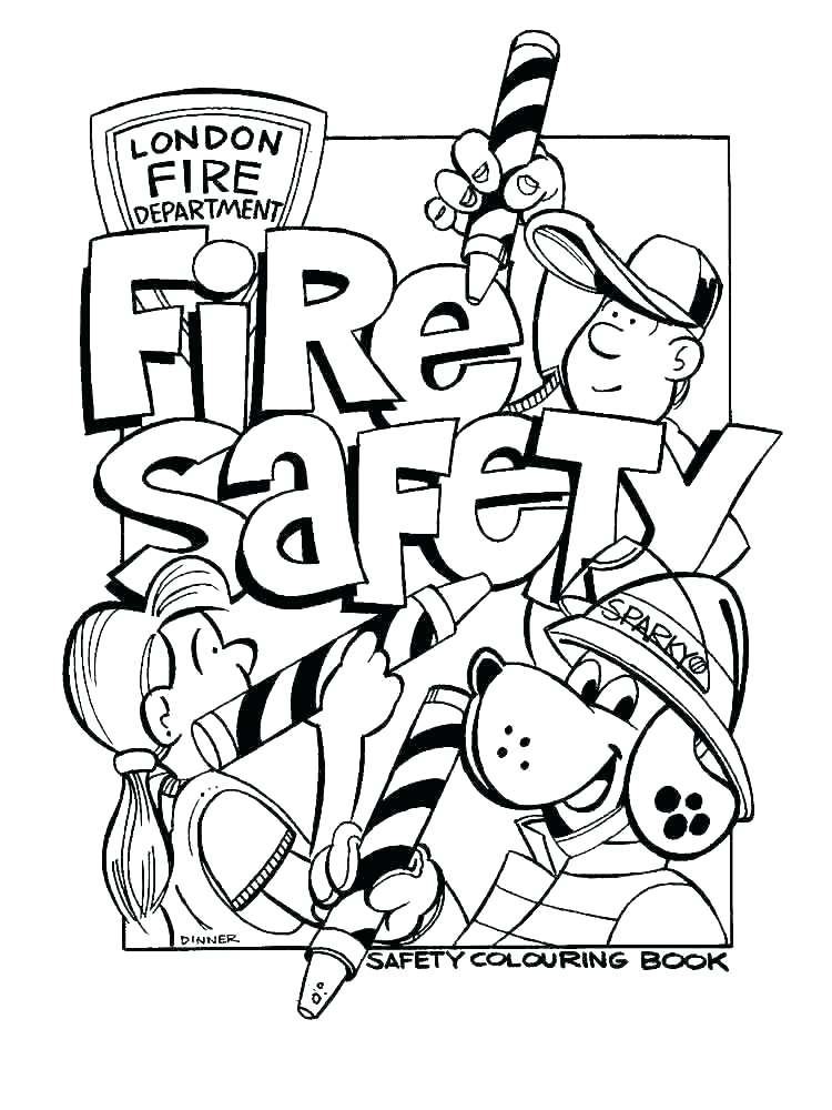 750x1000 Water Safety Coloring Pages